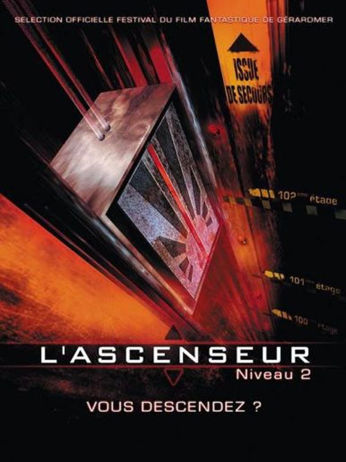 affiche-l-ascenseur-niveau-2-down-2001-1