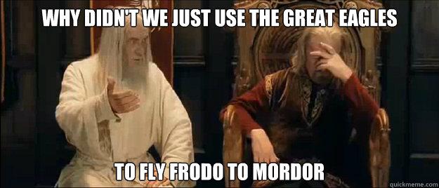Utilité n°1 : Raccourcir les trilogies (oui tout le monde y a pensé, sauf Tolkien....)