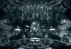 carte galactique dans le vaisseau alien