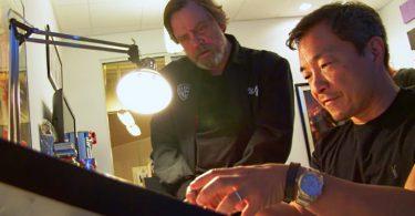 deux légendes Jim lee qui dessine et Mark Hamill