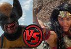 Logan vs diana le duel sur la plage