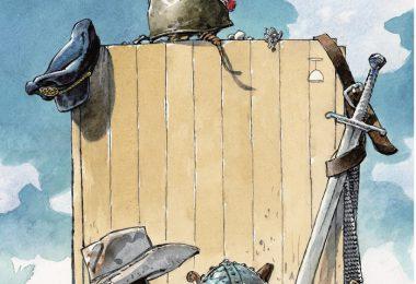 affiche du 44eme festival de la bd d'angouleme