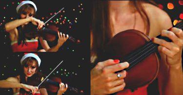 hommage au violon a la série de la BBC sur sherlock