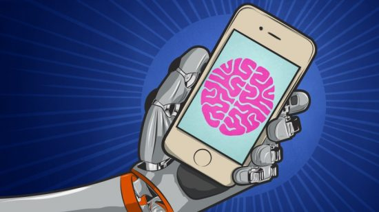 une main robotique