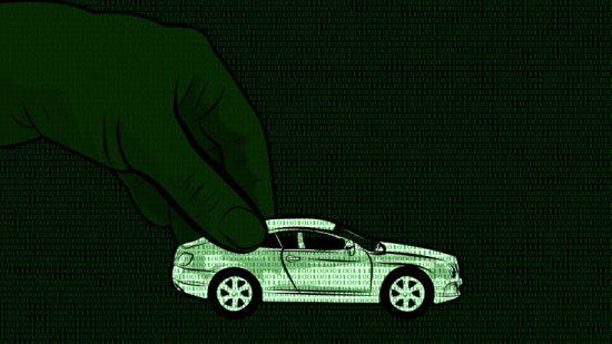 main et voiture