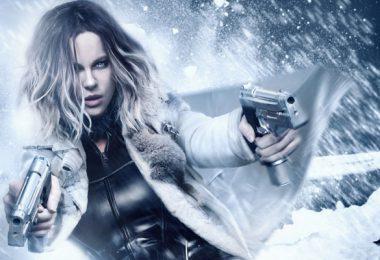 mini image de l'héroine avec deux guns dans la neige pour underworld blood wars