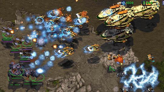 combat de protos dans les airs