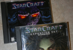 les cds de starcraft et broodwar