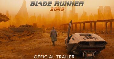 affiche officiele de blade runner 2049
