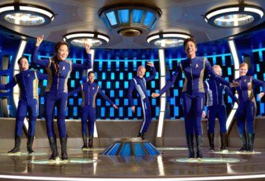 l'équipage de star trek discovery