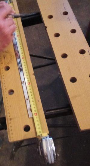 mesure avant découpe