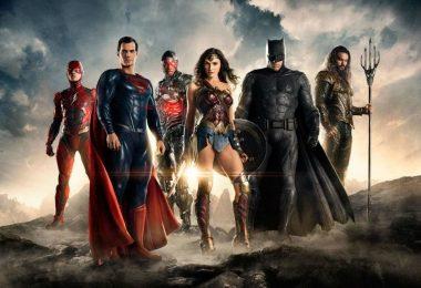 affiche de la justice league