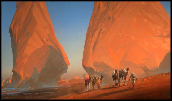 expédition dans le désert