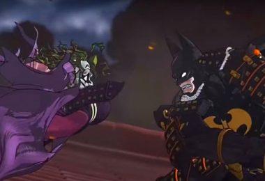 Batman et le joker au japon médiéval