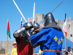 combat médiéval
