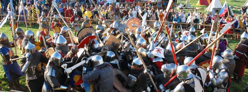 épreuves combat médiéval