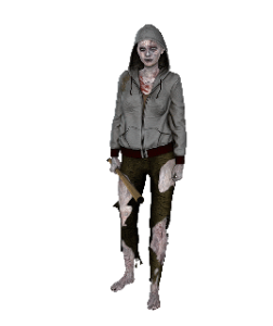 zombie femme