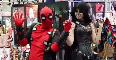 deadpool contre la comicon 2015