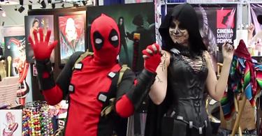 deadpool contre la comicon 2015