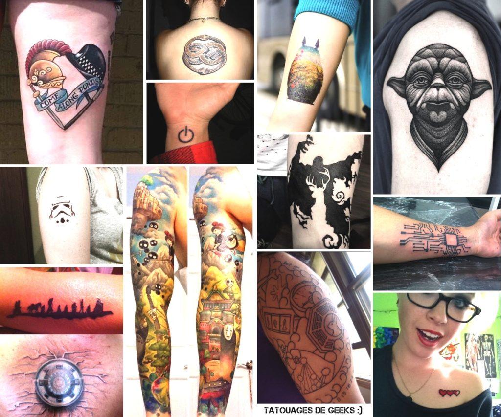 tatouages geek tatoos