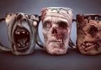 les mugs zombie