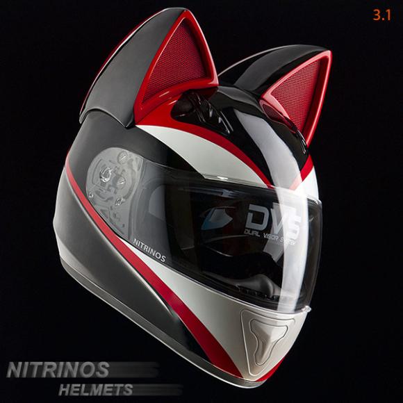 casque geek moto