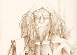 illustration d'altera néa un guerrier wotanique