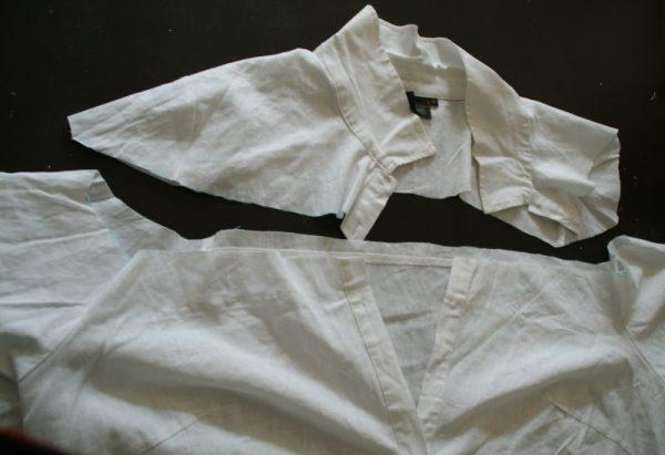 découper chemise pirate
