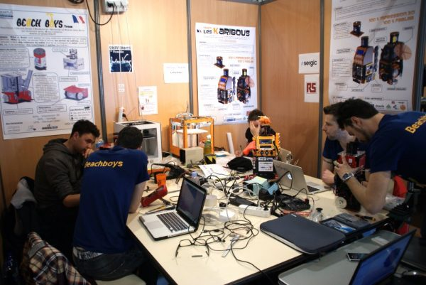 equipe coupe de france de robotique