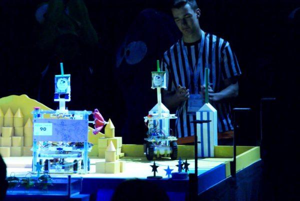 parasol ouvert coupe de france robotique 2016