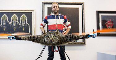 un chat volant ou un hollandais volant ?
