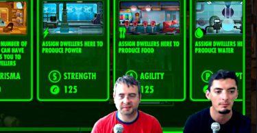 fletch et voldor test le jeu fallout shelter