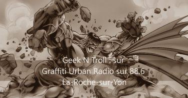 le premier podcast des rédacteurs de geek-powa à la radio