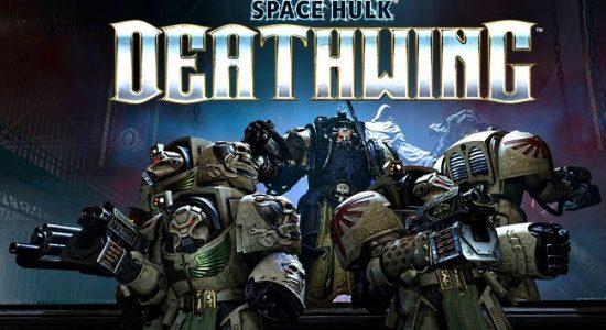 la troupe de space marine fait front