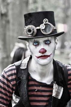 clown steam punk