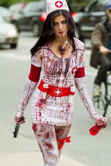 zombie infirmière très sale