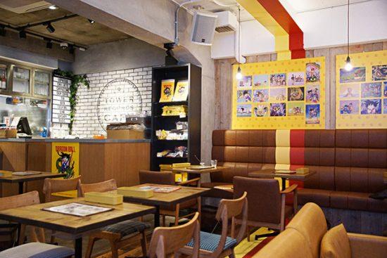 un-cafe-geek-decore-en-dragon-ball