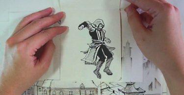 dessin fait main pour assassin'screed