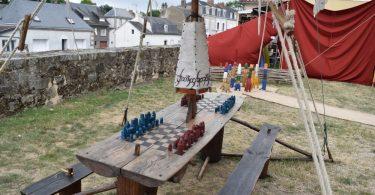 jeux en bois médiévaux