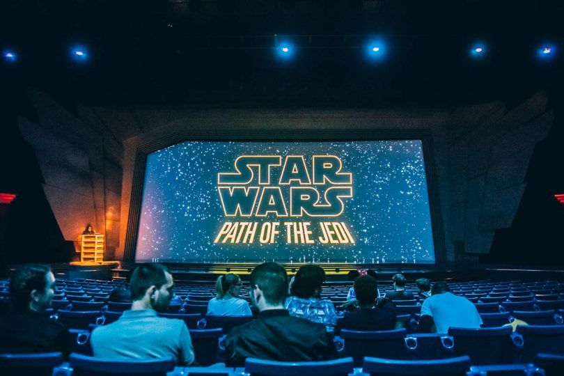 Star Wars Path of the Jedi Disneyland Paris