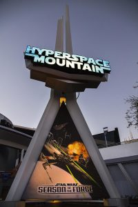 Hyper Space Mountain Star Wars Disneyland Paris