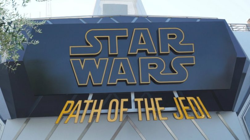 Star Wars Path of the Jedi Disneyland Paris