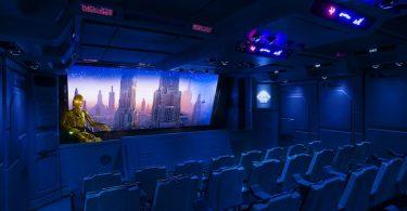 vue de la salle de cinéma du star tour
