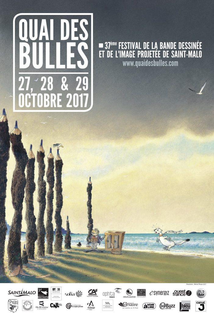 Affiche Quai des Bulles 2017