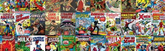couverture de comics en pagaille