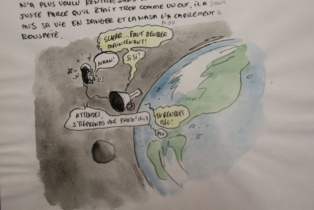 FIBD 2018 - expo Marion Montaigne