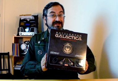 Merlin débale tout sur Battlestar Galactica Starship Battles