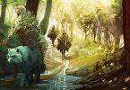 illustration du jeu de rôles pax elfica