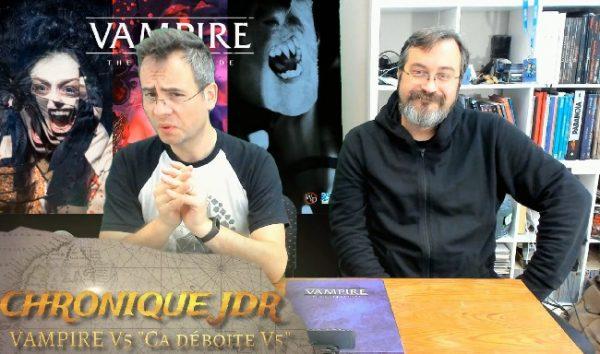 unboxing et présentation du coffret de jeu de rôle Vampire la Mascarade