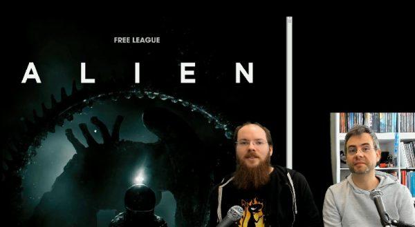 fletch et freuh présente le jeu de role alien de chez free league